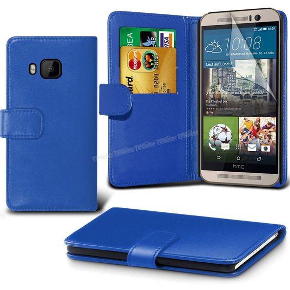 HTC One M9 Cüzdanlı Kılıf Mavi -  - Price : TL24.90. Buy now at http://www.teleplus.com.tr/index.php/htc-one-m9-cuzdanli-kilif-mavi.html