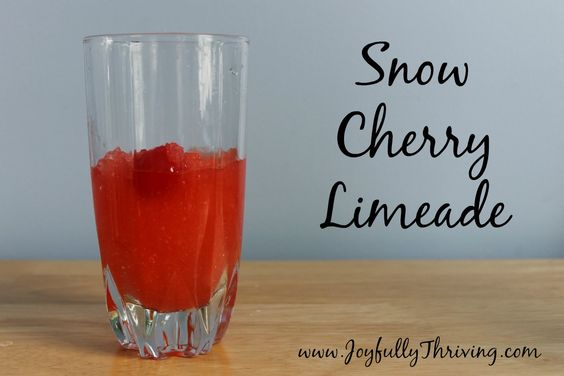 Snow Cherry Limeade