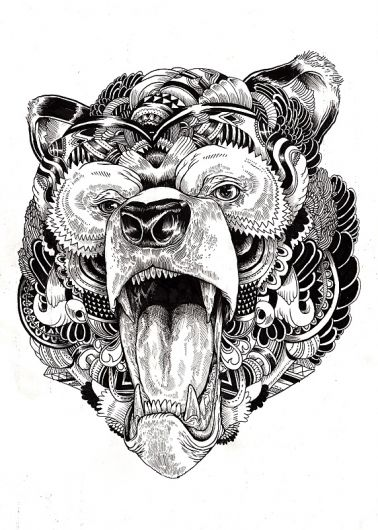 Illustration tattoo pinterest recherche animaux et for Statut illustrateur