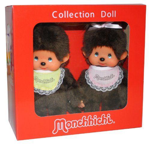 Sekiguchi 2549 - Monchichi 20cm, 4-fach sortiert: Amazon.de: Spielzeug