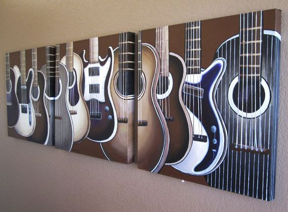 Pinterest the world s catalog of ideas for Guitar bedroom designs