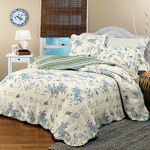 Coral Quilt at Domestications For the Home Pinterest