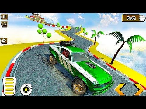 Super Hero Car Vs Monster Trucks Highway Racing Monster Crazy
