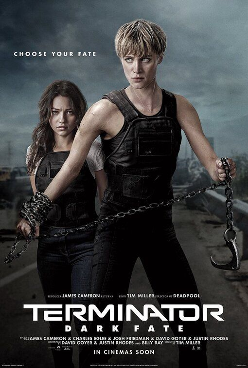 Terminator Dark Fate Poster Terminator Mannliche Gesichter Sarah Connor
