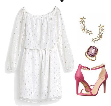 """JUNE NEWSLETTER """"THE COLD SHOULDER"""" OUTFIT #2"""