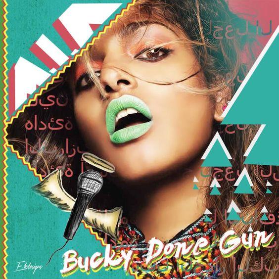 M.I.A. – Bucky Done Gun (single cover art)
