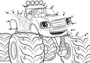 Blaze E Le Megamacchine Da Colorare E Stampare Gratis Disney Per Bambini Supereroi Fukuoka Japan Disegni Di Bla Disegni Da Colorare Disegni Disegni Di Rose