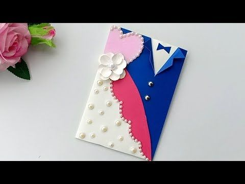 A Beautiful Anniversary Card Idea How To Make Anniversary Card At Home Youtube Anniversary Cards Handmade Anniversary Greeting Cards Anniversary Cards
