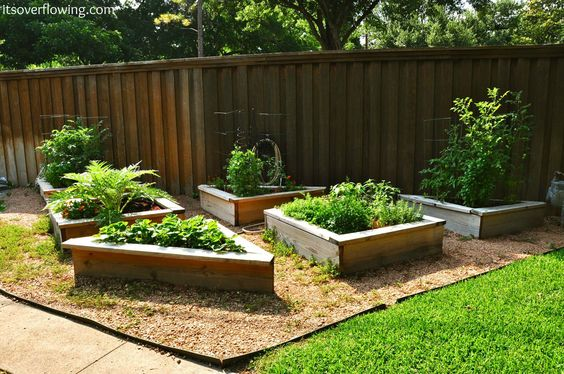 It's Overflowing   Tips to Simplify, Beautify, and Delight in Life: How to Build and Arrange a Raised Vegetable Garden