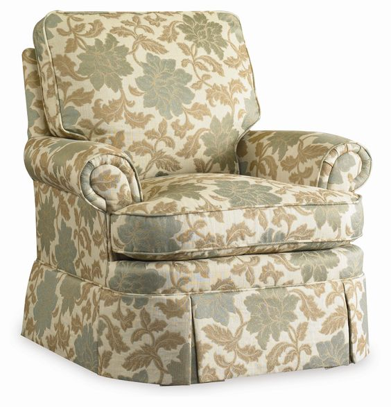 High Quality Brookville Skirted Swivel Glide Accent Chair By Sam Moore   AHFA   Glider  Rocker Dealer Locator