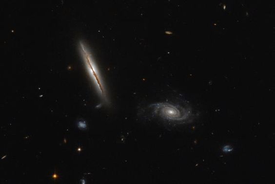 Picture of the galaxy LO95 0313-192