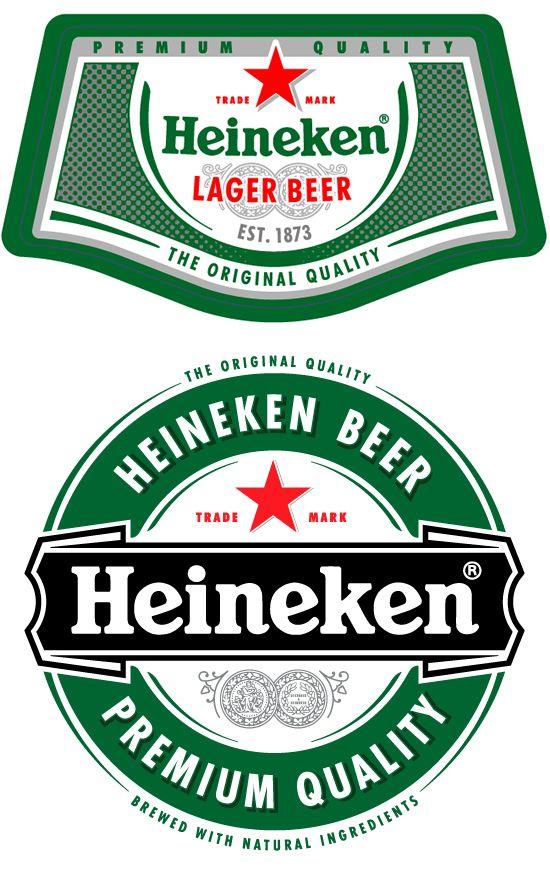 Free Heineken Beer Logo Vector - TitanUI   Beer cake ...