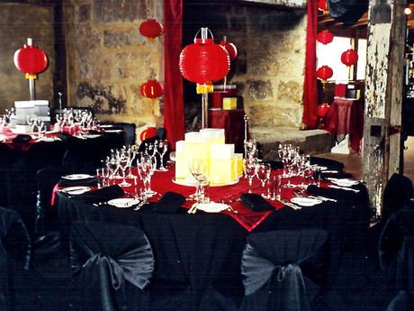 Pinterest the world s catalog of ideas for Black table centrepieces