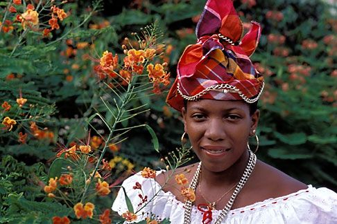 Woman from Martinique