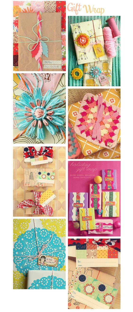Thompson Family-Life: *55 Days of Vintage Christmas* - Vintage Inspired Gift Wrap Ideas