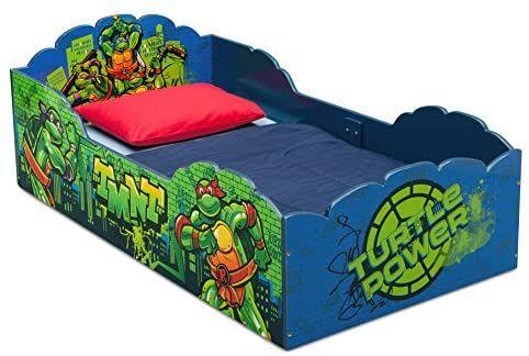 Delta Children Wood Toddler Bed Nickelodeon Teenage Mutant Ninja Turtles Baby Kids Toddler Bed Toddler Bed Wooden Toddler Bed