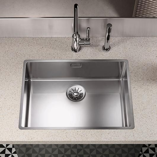 Kitchen Sinks Polished Stainless Sink Double Bowl Sink Stainless Steel Kitchen