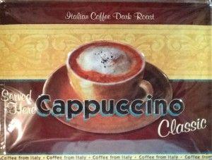 Cappuccino sign $40