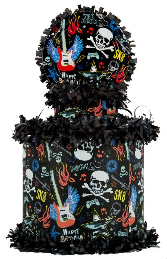 World of Pinatas - Rock SK8 Pinata, $27.99 (http://www.worldofpinatas.com/rock-sk8-pinata/)