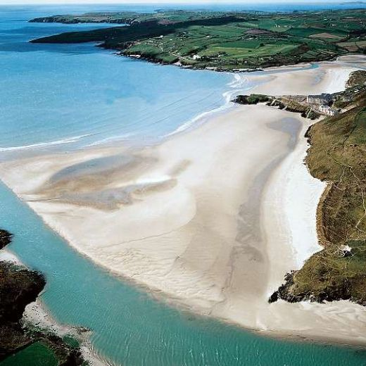 Inchydoney Island, Clonakilty, Co. Cork Ireland. Took my first swim in the Atlantic near here in 2013. The feeling of being soooo alive in the ocean is unique. Linda Burke