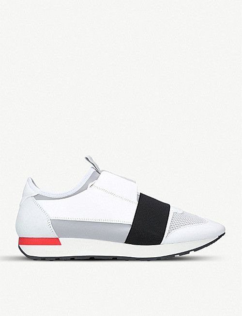BALENCIAGA Race Runners leather, suede
