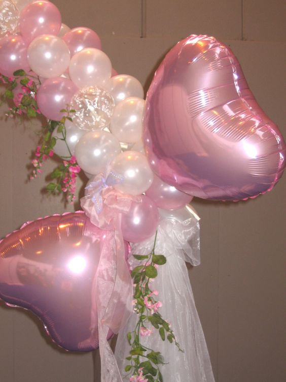 Butterfly wedding centerpieces balloons and balloon