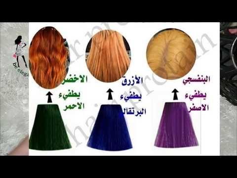 مصححات اللون المزعج أو المعززات كيف تختارين المصحح حسب لون شعرك فيديو حصري Youtube