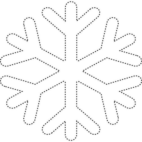 ideas and more snowflakes coloring templates free snowflake template
