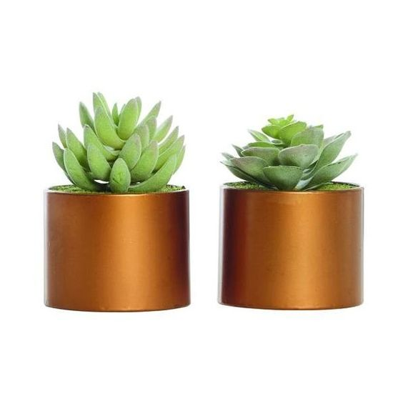 SELSEY SUCCULENT (€16) ❤ liked on Polyvore featuring home, home decor, copper home decor, succulent pots, copper pot and copper home accessories
