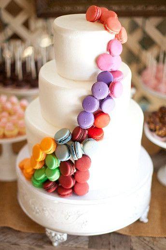Wedding Magazine - Macaron wedding cakes you have to see