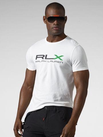 RLX Logo Cotton Jersey T-Shirt - RLX Tees - RalphLauren.com