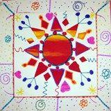Artsonia Art Exhibit :: Sun Print