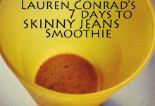 Lauren Conrad's 7 days to SKINNYjeans #healthy #smoothie #snack #food #weightloss