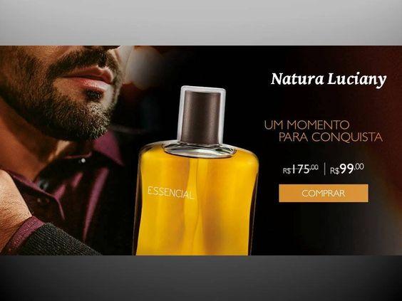 Essencial é ser você e deixar sua personalidade por onde passar. Essa eau de parfum traz uma fragrância amadeirada com notas frescas de cedro.  De R$ 175,00 por R$ 99,00