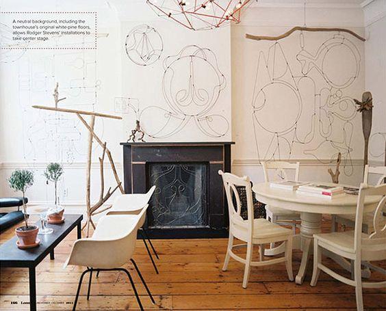 Design wohn esszimmer design : Stylisten, Wandschmuck and Wohnzimer on Pinterest