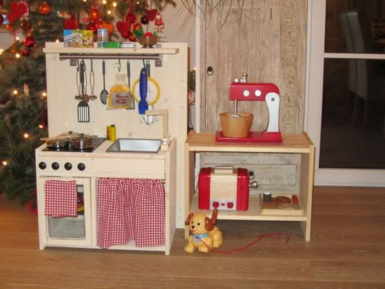 tipp von lola2011: selbstgebaute kinderküche - zimmerschau | tent, Moderne deko