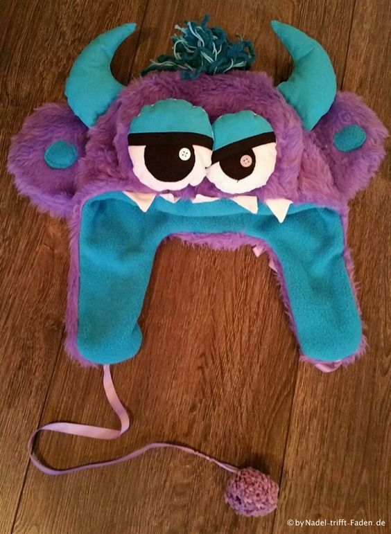 Mütze Monster für Fasching