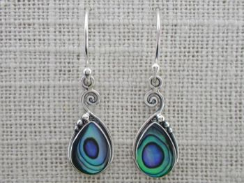 Abalone and Spiral - $28.00