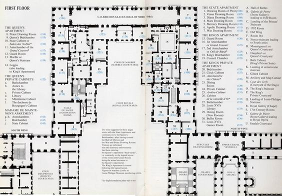 Palace Of Versailles Floor Plan | Plan Of Palace Of Versailles Piano  Nobile, | Manor Houses | Pinterest | Versailles, Palace And Plan Plan