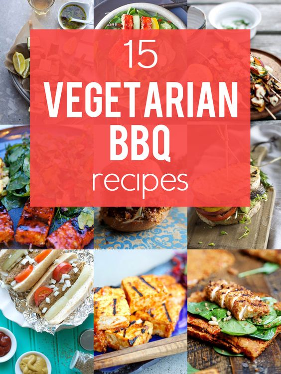 15 Ways to Turn Your Favorite BBQ Recipes Vegetarian - don't leave the vegetarians behind with these delicious vegetarian BBQ recipes