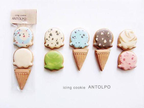 Japanese Iced Sugar Cookies by Antolpo – Fubiz Media