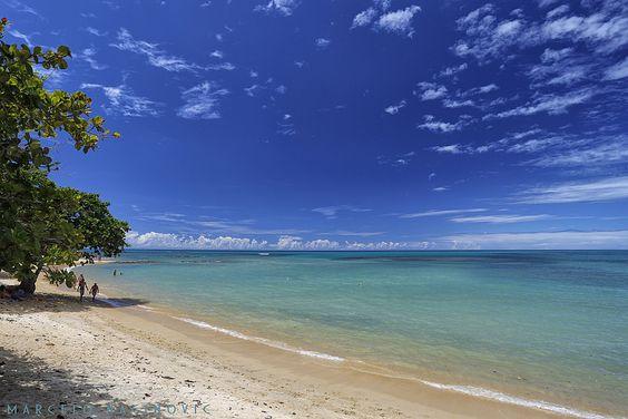 Praia do Curuípe em Trancoso
