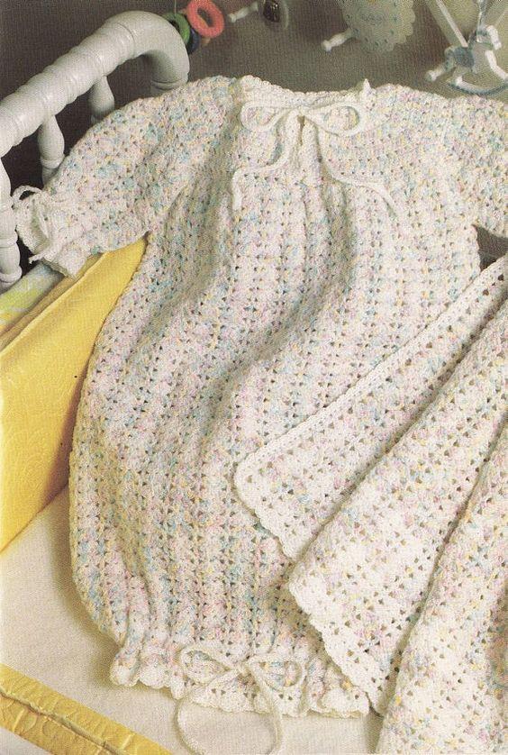 Asombroso Patrón De Ganchillo Afgano Bebé Modelo - Ideas de Patrones ...