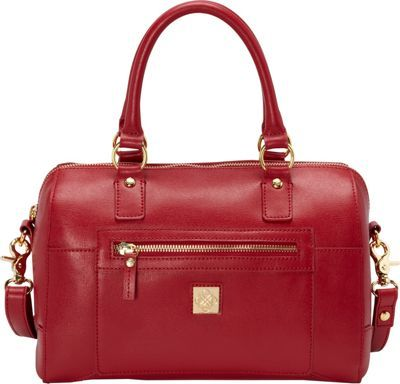 Piazza Madeline Satchel Red - via eBags.com!
