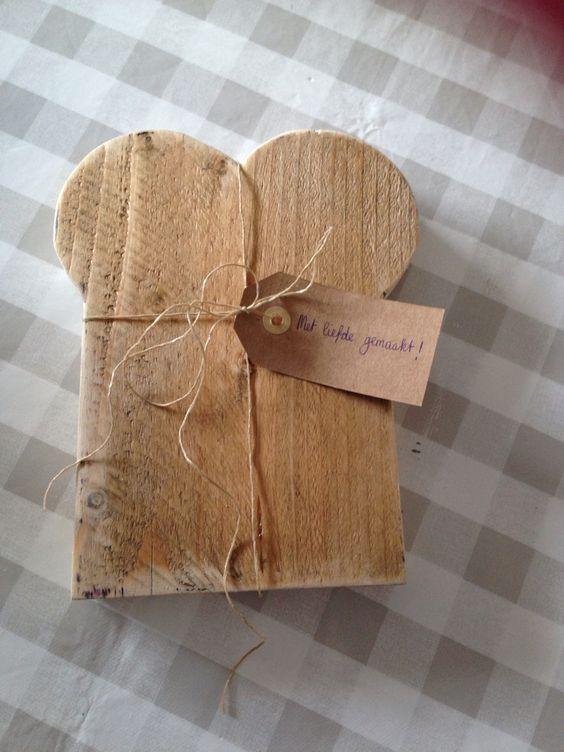 Broodplankje steigerhout
