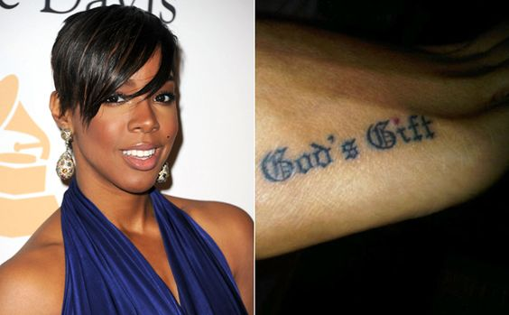 Kelly rowland foot tattoos and god on pinterest for Child of god tattoo