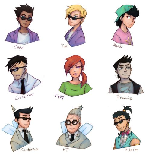 Fairly Oddparents Cast! | T.V. Shows | Pinterest | Art