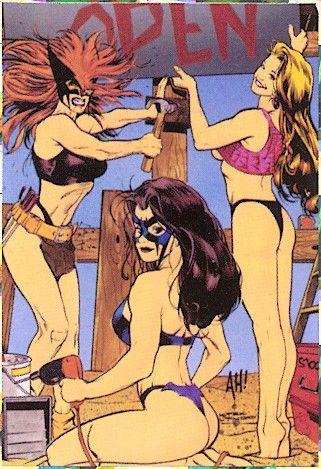 Adam Hughes - Spoof Comics