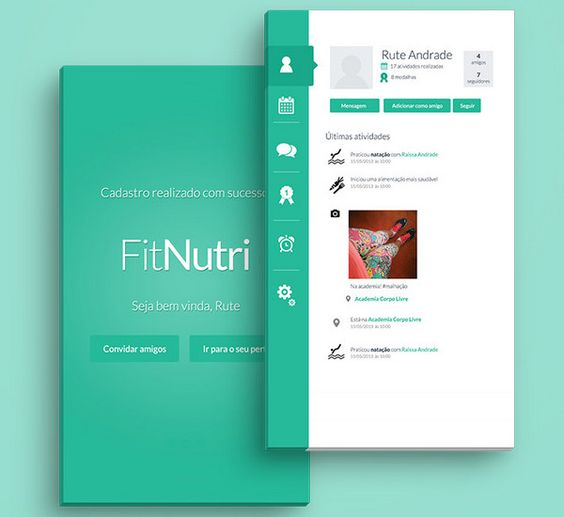 New Mobile UI Design Examples for good User experience and easy to ...
