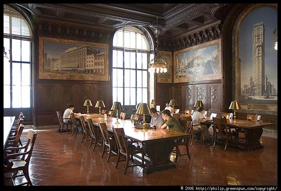 Fabulous room. The woodwork, the paintings, the subdued lighting right over your book with the natural light streaming through the tall windows...wonderful...